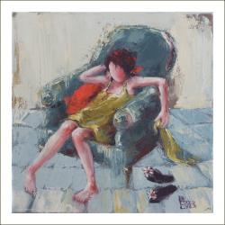 """Digigraphie - """"Le fauteuil boudeur"""""""