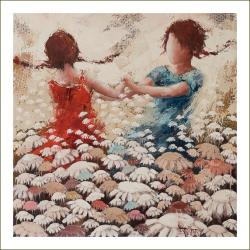 """Digigraphie - """"Les âmes libres"""""""