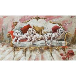 """""""Juste ton regard"""" 100 x 60 (Oeuvre originale unique)."""