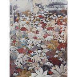 """""""Emportées par la foule"""" 80 x 60 (Oeuvre originale unique)."""