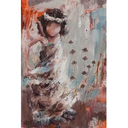 """""""Diabolo menthe"""" 60 x 40 (Oeuvre originale unique)."""