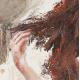 """""""impulsion"""" 60 x 60 (Oeuvre originale unique)."""