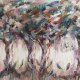 Les voyageurs - 110 x 130 (oeuvre originale unique).