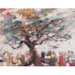 """""""A couper le souffle"""" 89 x 116 (Oeuvre originale unique)."""