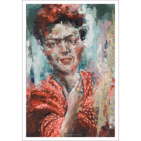 "Digigraphie - ""Frida apasionadamente"""