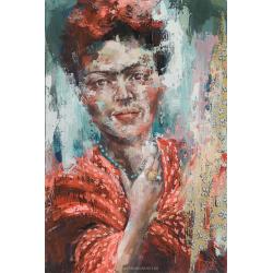 """""""Frida apasionadamente"""" 90 x 60 (Oeuvre originale unique)."""